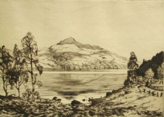 Robert Houston; 'Loch Lomond, Scotland'; 1920's
